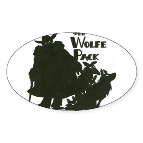 Nero Wolfe Sticker (Oval)