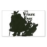 Nero Wolfe Sticker (Rectangle)