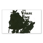 Nero Wolfe Sticker (Rectangle)
