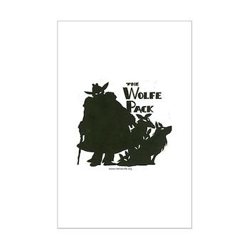 Nero Wolfe Mini Poster Print