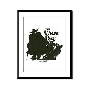 Nero Wolfe Framed Panel Print