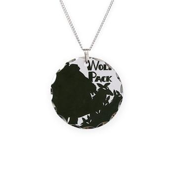 Nero Wolfe Necklace Circle Charm