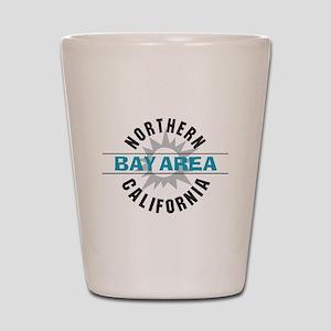 Bay Area California Shot Glass