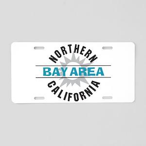 Bay Area California Aluminum License Plate