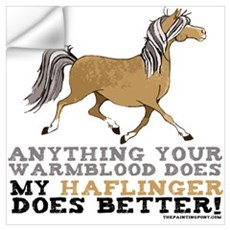 Haflinger Horse Wall Decal