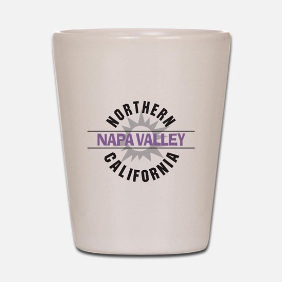Napa Valley California Shot Glass