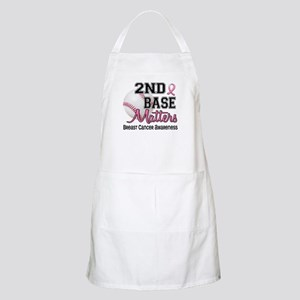 Second 2nd Base Breast Cancer Apron