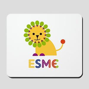 Esme the Lion Mousepad