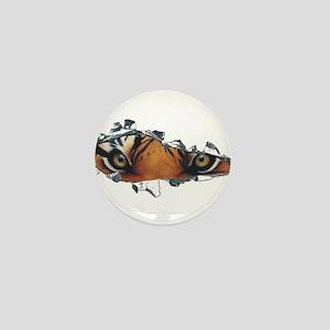 Tiger Eyes Mini Button