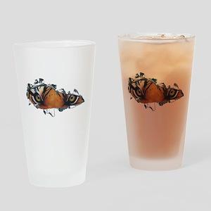Tiger Eyes Drinking Glass