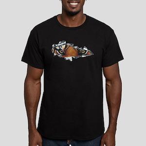 Tiger Eyes Men's Fitted T-Shirt (dark)
