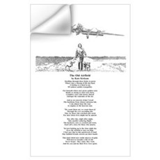 The Old Airfield 11x17 Print Wall Decal