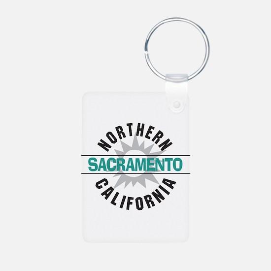 Sacrameto California Keychains