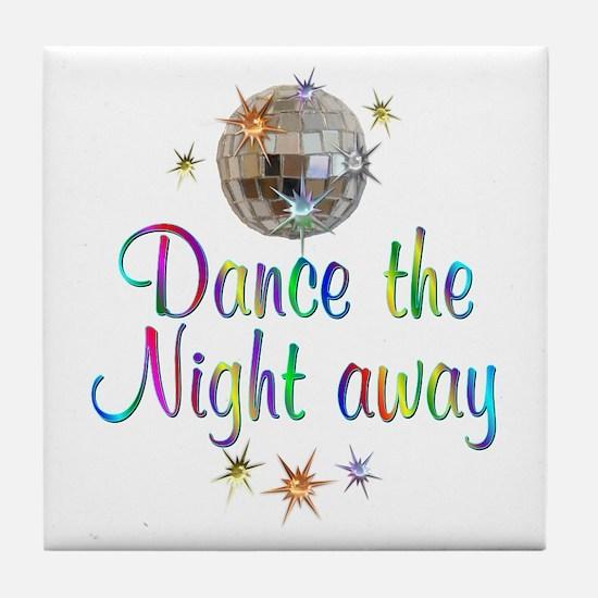 Dance Away Tile Coaster