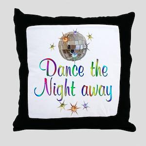 Dance Away Throw Pillow