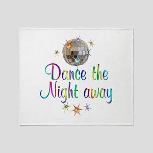 Dance Away Throw Blanket