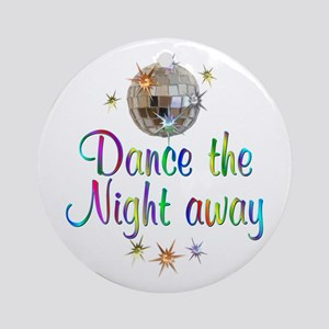Dance Away Ornament (Round)