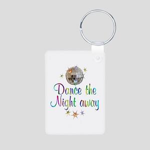 Dance Away Aluminum Photo Keychain