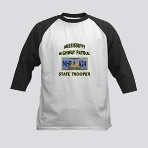 Mississippi Highway Patrol Kids Baseball Jersey