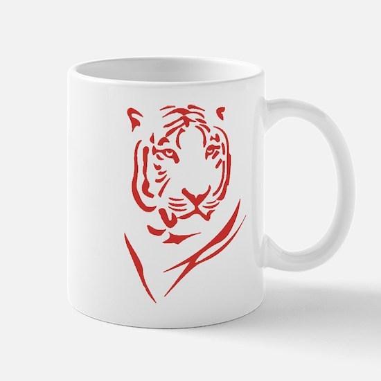 Red Tiger Mug