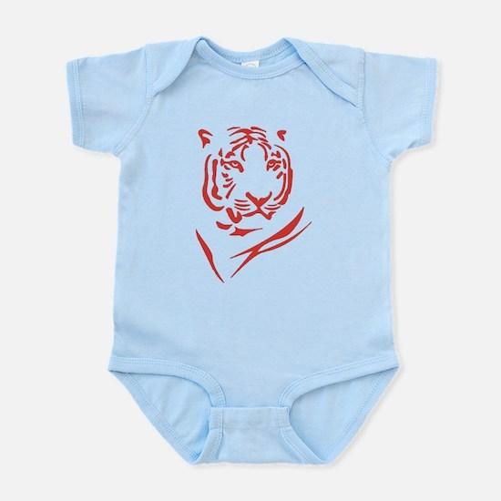 Red Tiger Infant Bodysuit