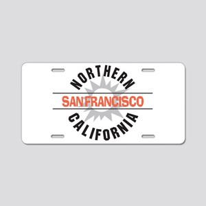 San Francisco California Aluminum License Plate
