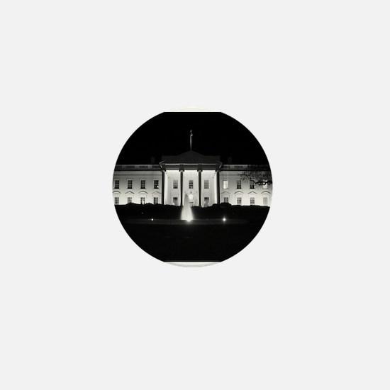 White House Mini Button