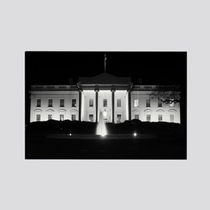 White House Rectangle Magnet