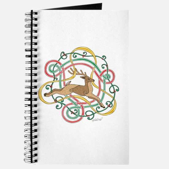 Celtic Reindeer Knots Journal