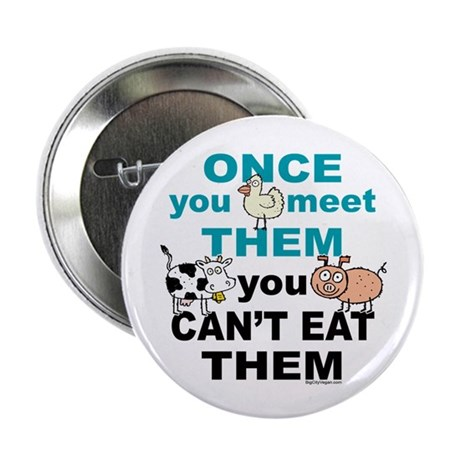 """Animal Compassion 2.25"""" Button (10 pack)"""