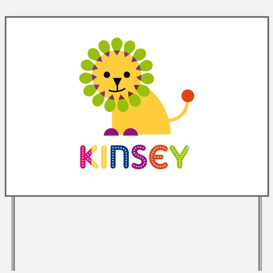 Kinsey the Lion Yard Sign