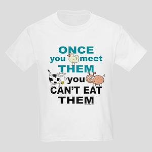 Animal Compassion Kids Light T-Shirt