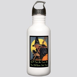 We'll Eat When the Kid Stainless Water Bottle 1.0L