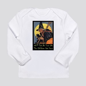 We'll Eat When the Kids Long Sleeve Infant T-Shirt