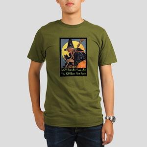 We'll Eat When the Ki Organic Men's T-Shirt (dark)