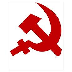RUSSIAN SOVIET FLAG Poster