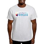 smitten by kittens Ash Grey T-Shirt