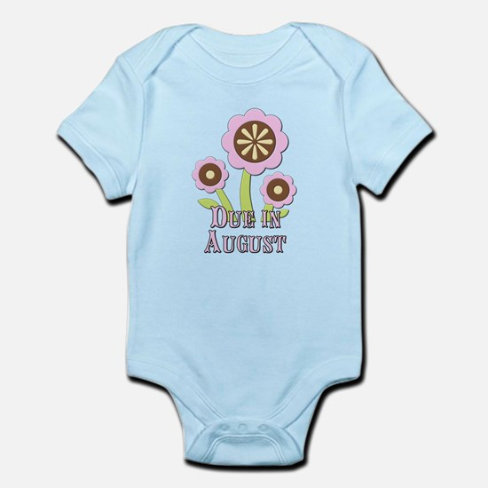 Due in August Expectant Mother Infant Bodysuit