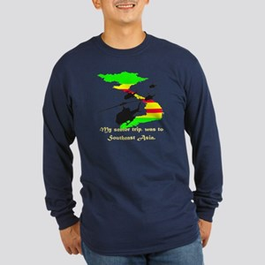 Senior Trip Long Sleeve Dark T-Shirt