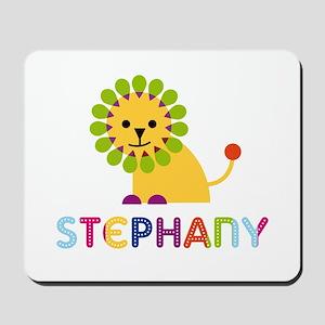Stephany the Lion Mousepad