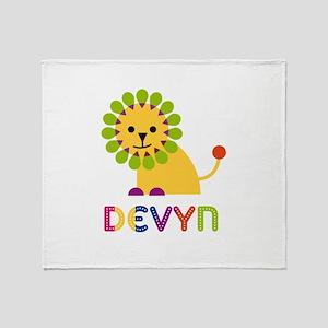 Devyn the Lion Throw Blanket