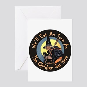 We'll Eat When the Kids Get Here Greeting Card