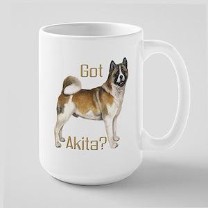 """Got Akita?"" Large Mug"