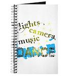 Lights Camera Music Dance Journal