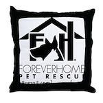 Foreverhome Throw Pillow