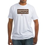 Pibacus Fitted T-Shirt