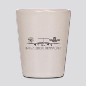 C-141 Pilot Shot Glass