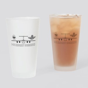 C-141 Pilot Drinking Glass