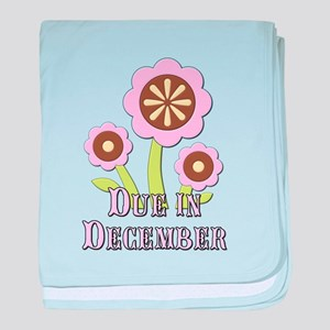 Due in December Expectant Mother baby blanket