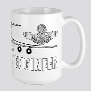 C-141 Flight Engineer Large Mug